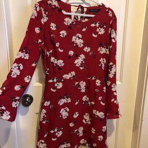 3/$30 ✨Dynamite Red Mini-Dress w Long Sleeve